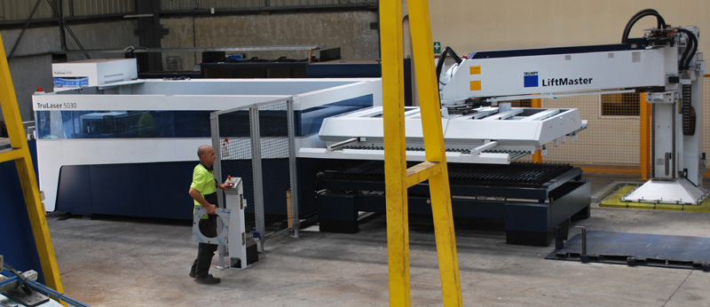 Purchased new Trumpf 5030 L52 for Queensland facility.